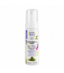 Ash - Mousse Cleanser Purifying Face and Body Bracket - Bio | Yumibio