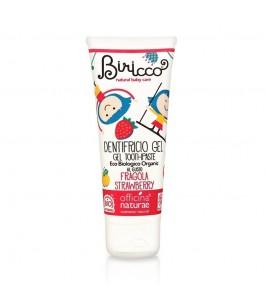Biricco - Toothpaste-Baby Strawberry - Officina Naturae | Yumibio