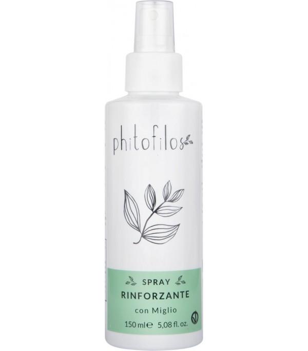 Lozione Spray Rinforzante per Capelli Fragili - Migliora - Phitofilos YumiBio