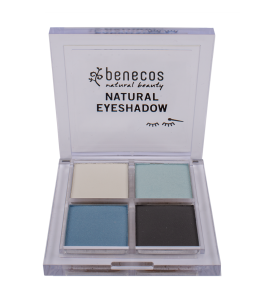Palette Eye Shadow True Blue - Benecos | Yumibio