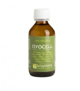 Body oil for Massage Draining - Fitocell - The Saponaria|YumiBio