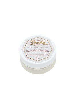 Profumo Solido - Sandalo e Vaniglia - Latte Luna| Yumibio