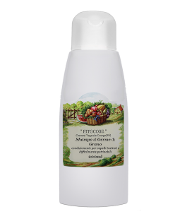 Shampoo to Wheat Germ for dry hair - Fitocose   Yumibio