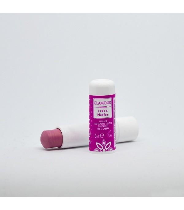 Lip Balm Rose Colored Satin - Glamour - Kamelì | Yumibio