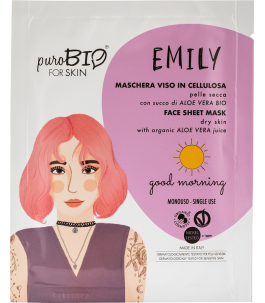 Face mask Cellulose for Dry Skin - Good Morning - Purobio| Yumibio