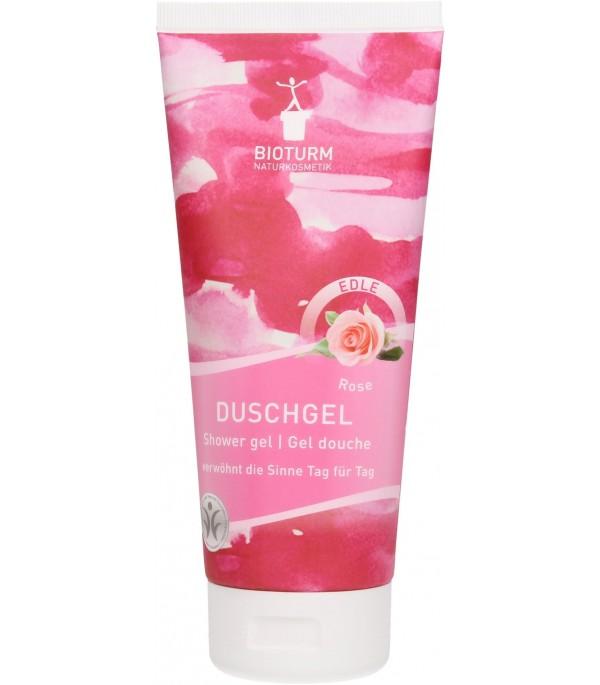 Shower Gel Rose Damascena - Bioturm   Yumibio