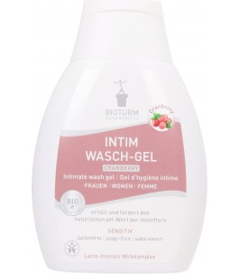 Cleansing Gel intimate Woman Cranberry - Bioturm|YumiBio