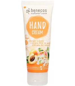 Hand cream with apricot and...