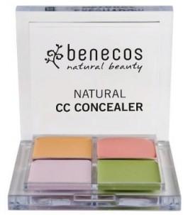Palette, 4 Cache-Cernes - Benecos | Yumibio