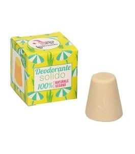 Deodorante Solido all'Olio di Palma Rosa - Lamazuna | Yumibio