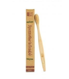 Spazzolino da denti in bambù per adulti - Tea Natura|Yumibio