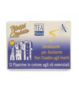 "Piastrine Antizanzara Faitrade ""Notti Quiete"" - Tea Natura| Yumibio"