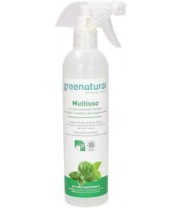 Spray Multiuso all'Ossigeno Attivo, Menta ed Eucalipto - Green Natural | Yumibio
