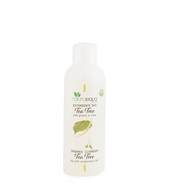 Detergente Viso Naturale per Pelli Grasse Tea Tree - Naturaequa | Yumibio