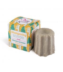 Shampoo Solido Vegano Capelli Normali al Pino - Lamazuna | Yumibio