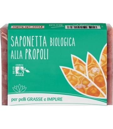 Saponetta alla Propoli per Pelli Grasse e Impure - Fior di Loto | Yumibio