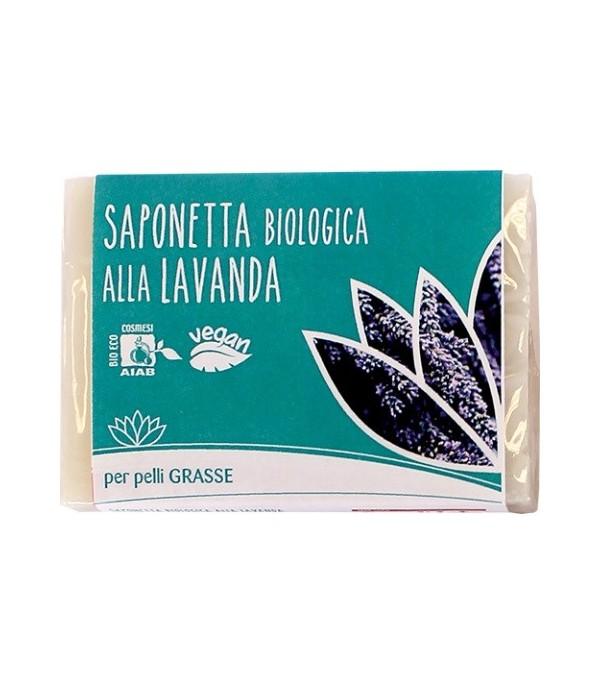 Saponetta alla Lavanda per Pelli Grasse - Fior di Loto | Yumibio