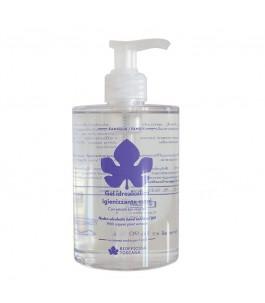 Gel hydroalcoolique désinfectant pour les mains 500 ml - Biofficina Toscane   Yumibio