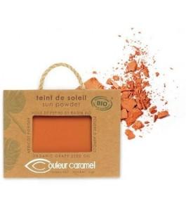 Teint de Soleil - Poudre Bronzante 25 - Orangé-Brun, Nacré - Couleur Caramel  Yumibio