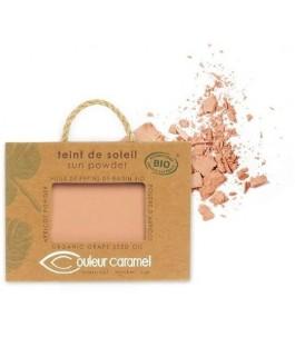 Teint de Soleil - Poudre Bronzante 23 Brun - Beige, Nacré - Couleur Caramel| Yumibio