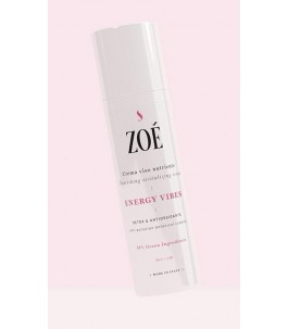 Energy Vibes - Crema Viso Nutriente - Zoé Cosmetics | Yumibio