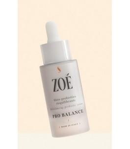 Pro Solde - Sérum ré-Équilibrage du Visage avec de l'Acide Hyaluronique et les Probiotiques - Zoé Cosmétiques | Yumibio