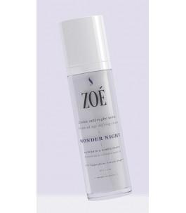 Wonder Night - Crema Viso Notte Antietà e Rimpolpante - Zoé Cosmetics | Yumibio