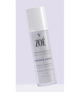 Wonder Night - Night Face Cream anti-aging and Plumping - Zoé Cosmetics | Yumibio
