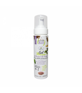 Gel Mousse Gel to the Flax Seed and Bracket - Bio|YumiBio