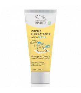 Crème hydratante pour bébé pour le Visage et le Corps - Laboratoires de Biarritz | Yumibio