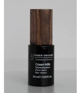 Green Milk – Siero Illuminante Contorno Occhi - Faber Organic   Yumibio