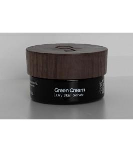 Vert – Crème Hydratant Crème pour le Visage et Nourrissant - Faber Organique | Yumibio