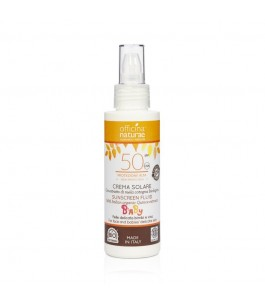 Baby sunscreen Spray SPF 50 - High Protection - Officina Naturae | Yumibio
