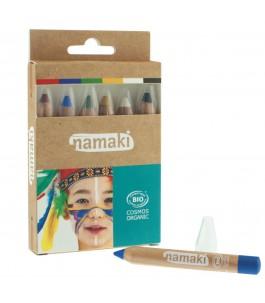 Set 6 Matite Colorate per il Trucco - Namaki | Yumibio