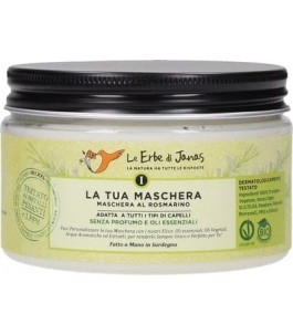Hair mask Rosemary and prickly pear moisturizes and nourishes - The Herbal Janas | Yumibio