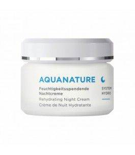 Night Cream Rehydrating Facial AquaNature - Borlind | Yumibio
