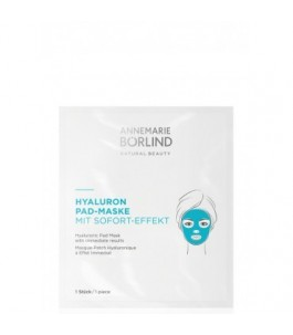 Masque pour le visage Pad Anti-Âge à l'Acide Hyaluronique - Borlind | Yumibio