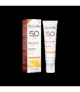 Spray Protezione Solare SPF 50 - Acorelle | Yumibio
