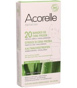 Strisce Depilatorie Corpo con Aloe Vera - Acorelle | Yumibio