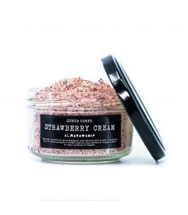 Body and Facial Scrub - Strawberry Cream - Almara Soap | Yumibio