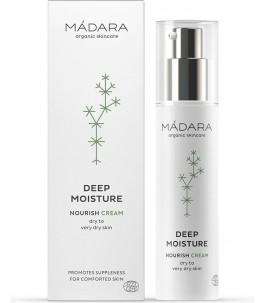 Cream moisturizing dry skin...