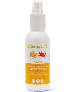Solar Spray SPF50 for Kids - Natural Green | Yumibio