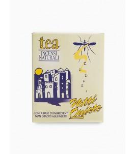 Nuits calmes - Spirales d'encens anti-moustiques - Tea-la-Nature | Yumibio