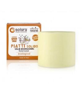 Solara Sapone Solido per i Piatti - Arancio Dolce - Officina Naturae | Yumibio