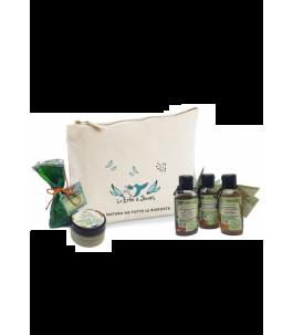 Clutch Fitoviaggio - Travel Set Hair & Body - herbs Janas | Yumibio