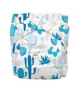 Couche En Tissu De One-Size-Fits - Cactus Azul - Charlie Banane | Yumibio