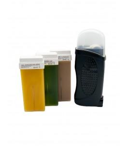 Kit Warmer Wax + 3 Refills - Bewell Green| Yumibio
