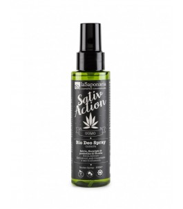 Sativaction - Bio Deo Spray, Hemp - The Saponaria | Yumibio