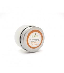 Crema Viso Idratante e Illuminante con Avena e Calendula 15 ml - Potentilla | Yumibio