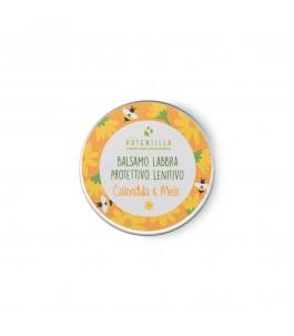 Balsamo Labbra Protettivo - Calendula e Miele - Potentilla | Yumibio